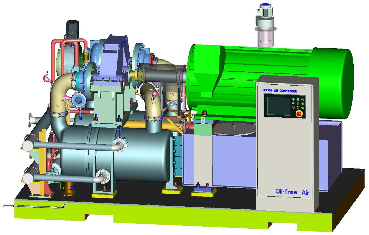 sh150-8 型离心式空气压缩机图片