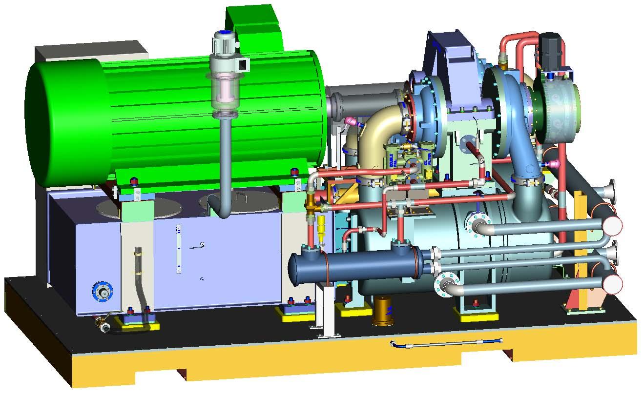 FANXP风机选型网 行业动态 SH150 8 型离心式空气压缩机